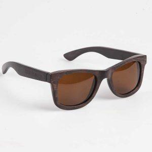 Houten-zonnebril
